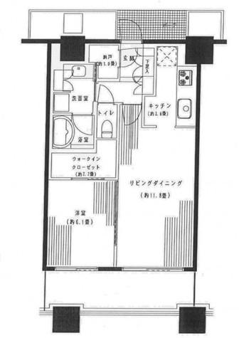 パークタワー横浜ステーションプレミア / 1808 部屋画像1