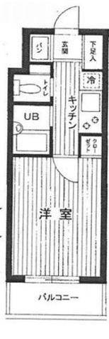 スカイコート日本橋人形町第5 / 4階 部屋画像1