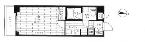 ステージファースト恵比寿二番館 / 2階 部屋画像1