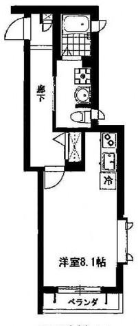 メゾン・ノワール / 2階 部屋画像1