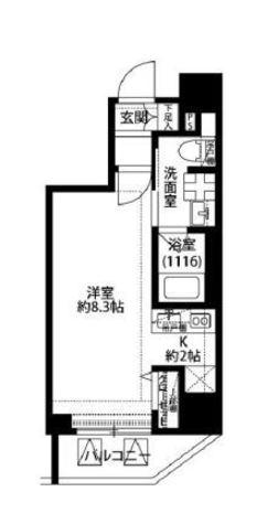 プレール・ドゥーク中目黒 / 2階 部屋画像1