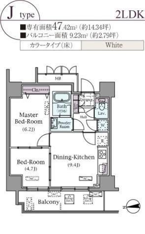パークアクシス元浅草ステージ / 1204 部屋画像1