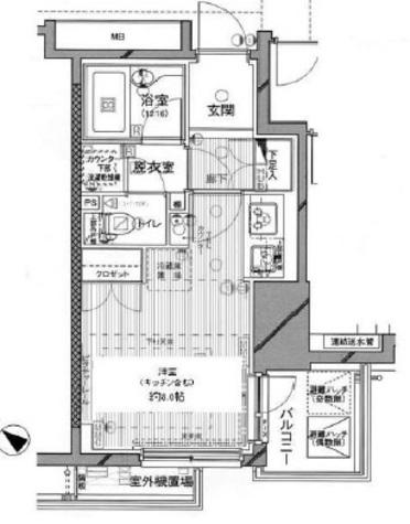 ファミール東銀座グランスイートタワー / 5階 部屋画像1
