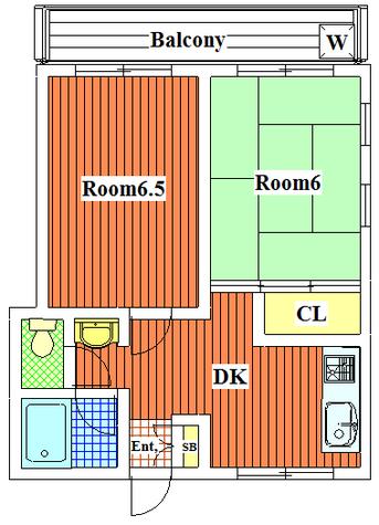 リバーサイド丸山 / 301 部屋画像1