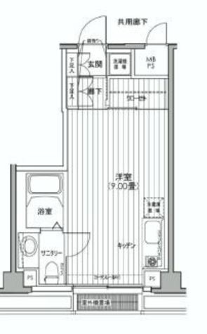 カスタリア都立大学 / 5階 部屋画像1