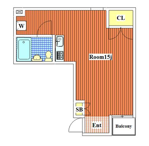 パシモントハウス / 103 部屋画像1