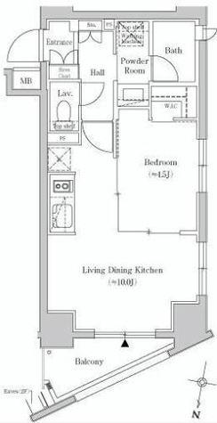 Casa Splendido Harajuku(カーサ スプレンディッド原宿) / 202 部屋画像1
