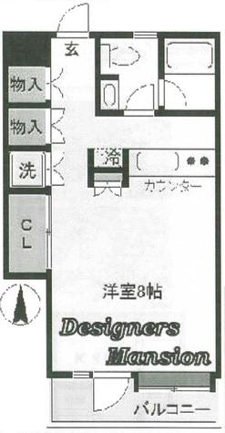 ヒルトップ2201 / 203 部屋画像1