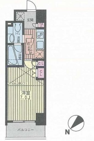 パークキューブ武蔵小杉 / 6階 部屋画像1