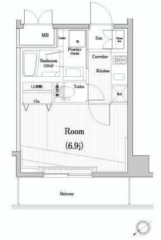 ジーコンフォートウエスト新横浜 / 10階 部屋画像1
