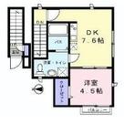 Contessa御殿山(コンテッサ御殿山) / 202 部屋画像1