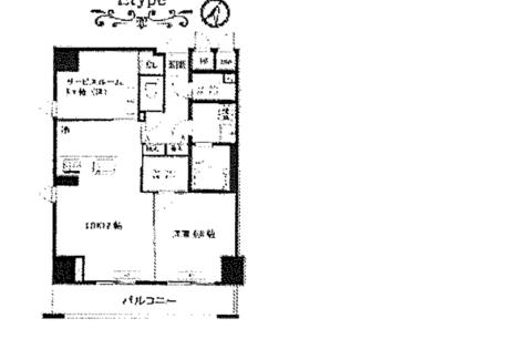 ガーデンヒルズ柿ノ木坂 / 6階 部屋画像1
