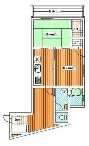 須賀マンション / 8階 部屋画像1