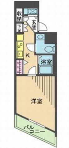 メゾン・ド・ヴィレ目黒 / 3階 部屋画像1