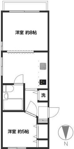 麻布十番 4分マンション / 3階 部屋画像1