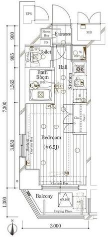 六本木 10分マンション / 9階 部屋画像1