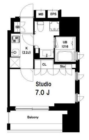 中目黒ウエスト / 603 部屋画像1