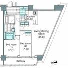 パークハビオ新宿イーストサイドタワー / 513 部屋画像1