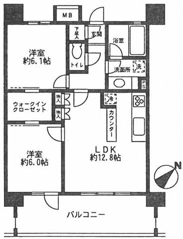 ライオンズシティ白金高輪 / 10階 部屋画像1