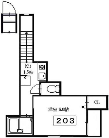 ヒルトップ南青山 / 2階 部屋画像1