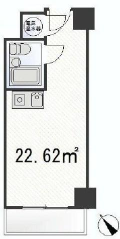 ステュディオ虎ノ門 / 8階 部屋画像1