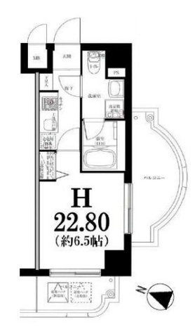 グリフィン横浜・東白楽弐番館 / 6階 部屋画像1