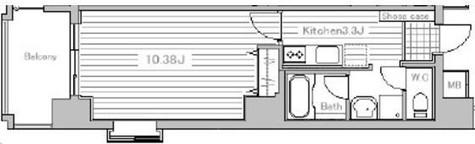 ミラフローレス赤坂 / 6階 部屋画像1
