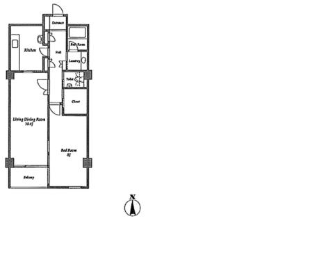 ハイアット2822 / 2階 部屋画像1