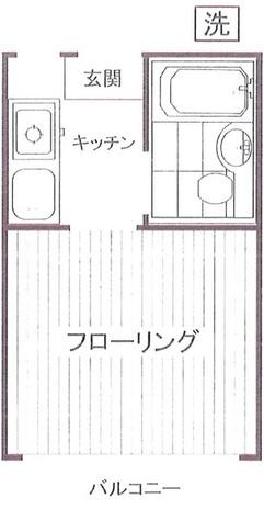 アパルトマン / 105 部屋画像1