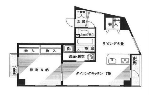 都立大学 2分マンション / 6階 部屋画像1