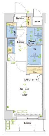 ヴォーガコルテ本所吾妻橋 / 3階 部屋画像1
