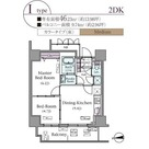 パークアクシス元浅草ステージ / 15階 部屋画像1