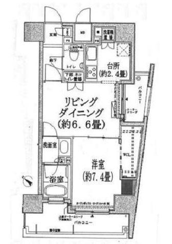 コンフォリア三宿 / 5階 部屋画像1