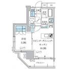 パークアクシス上野三丁目 / 8階 部屋画像1