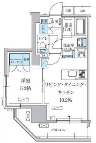 パークアクシス上野三丁目 / 10階 部屋画像1