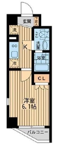 プラウドフラット目黒行人坂 / 3階 部屋画像1