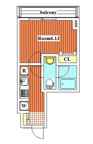 旗ヶ岡アパートメント / 3階 部屋画像1