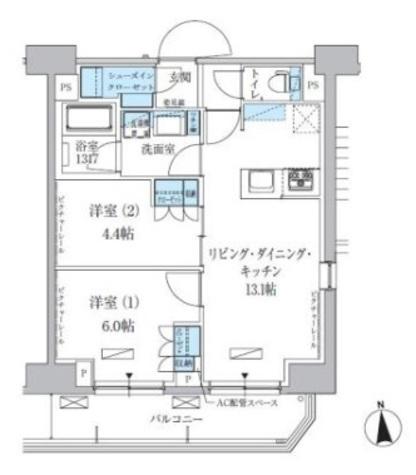 パークアクシス上野三丁目 / 11階 部屋画像1