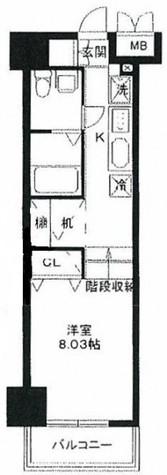 レジディア上野御徒町 / 7階 部屋画像1