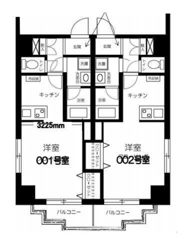 GRACEONE(グレイスワン) / 4階 部屋画像1