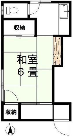 大瀧荘 / 201 部屋画像1