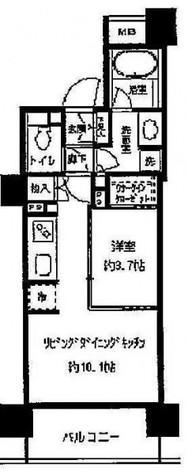 パークホームズ目黒リバーサウスアーバンレジデンス / 7階 部屋画像1