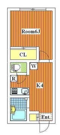 ウインズ三軒茶屋 / 2階 部屋画像1