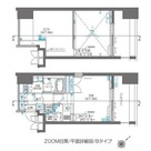 ZOOM目黒(ズーム目黒) / 402 部屋画像1