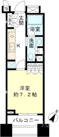 Brillia 銀座id(ブリリア銀座アイディー) / 14階 部屋画像1