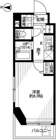 プレール・ドゥーク清澄白河 / 2階 部屋画像1