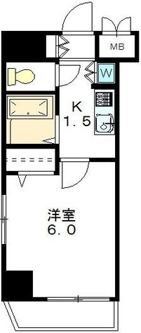 メインステージ代々木公園 / 6階 部屋画像1