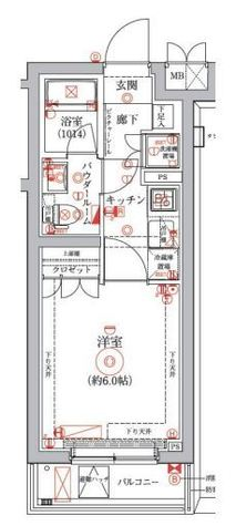 セジョリ横浜鶴見 / 5階 部屋画像1