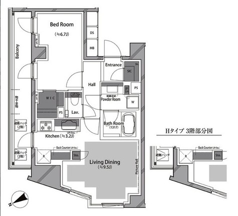RISING SUN 恵比寿二丁目 BRANZ / 2階 部屋画像1