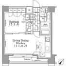パークハビオ月島 / 8階 部屋画像1